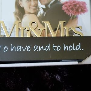 Malden Other - 🆕️ CUTE WEDDING PHOTO PICTURE FRAME 👰